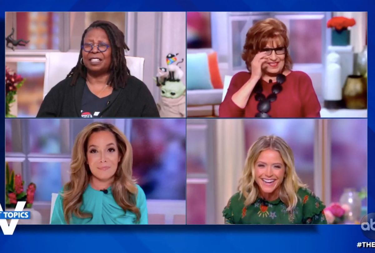 The ladies of The View laughing (ABC)