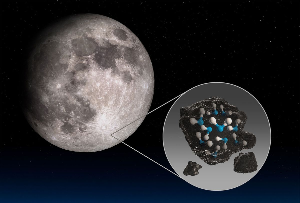 Moon is richer in water than once thought