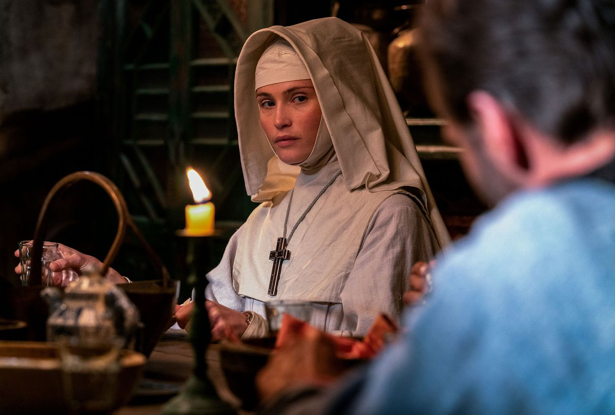 "Gemma Arterton as Sister Clodagh in ""Black Narcissus"" (Miya Mizuno/FX)"