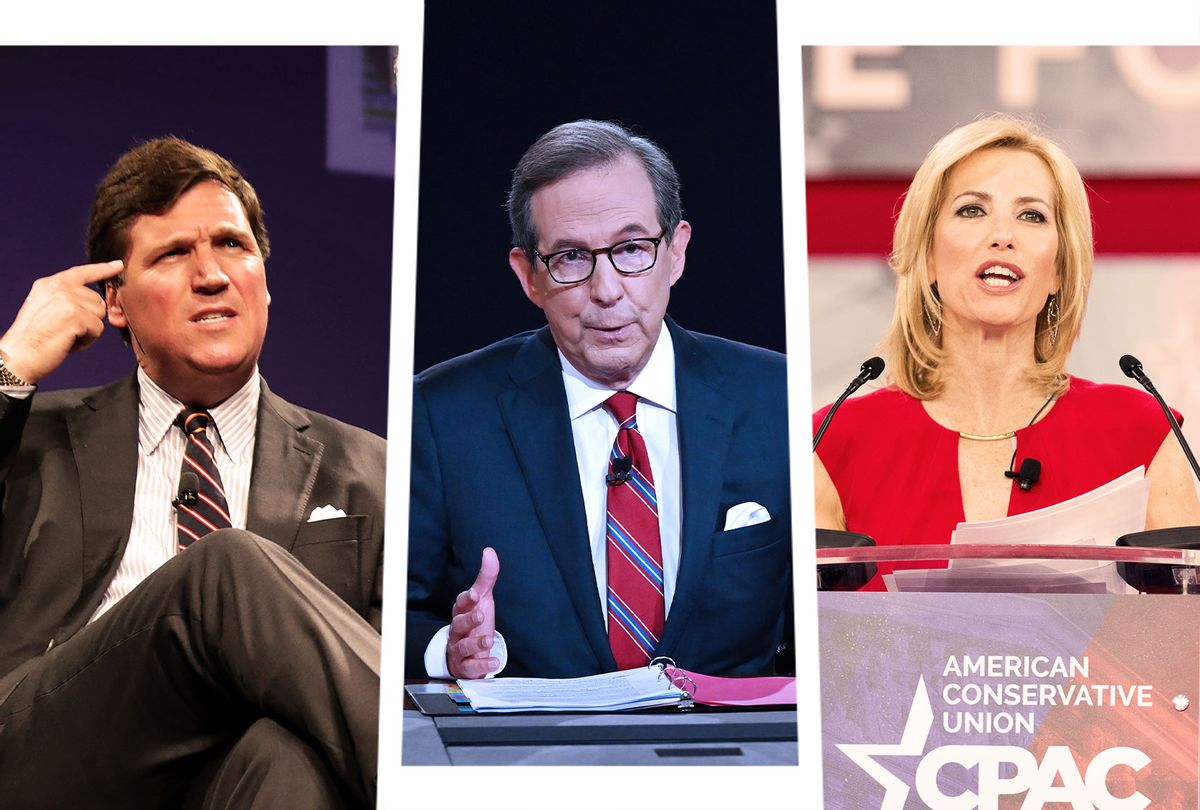 Tucker Carlson, Chis Wallace and Laura Ingraham (Photo illustration by Salon/Getty Images)