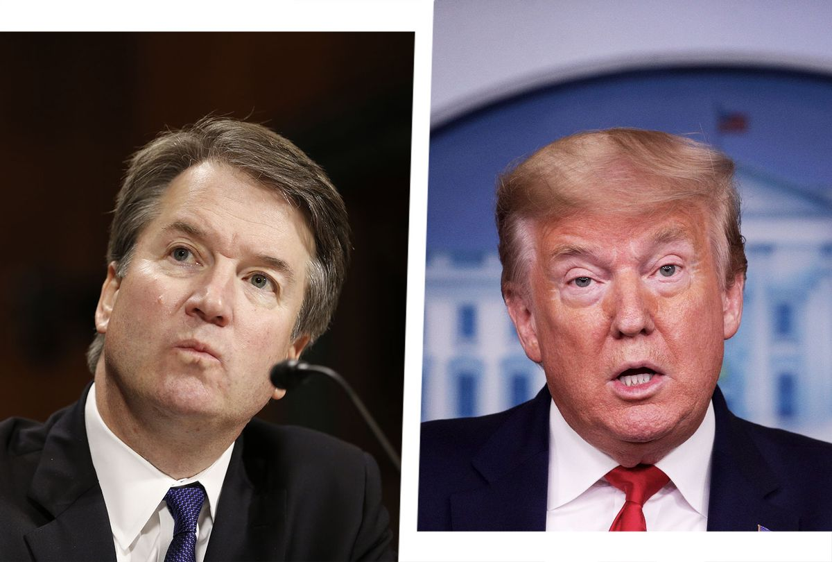 Brett Kavanaugh and Donald Trump (Photo illustration by Salon/Getty Images)
