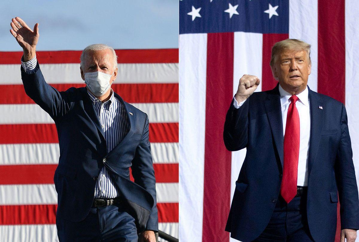 Joe Biden and Donald Trump (ANGELA WEISS,SAUL LOEB/AFP via Getty Images)