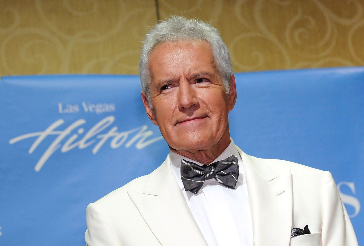 Lifetime Achievement Award honoree Alex Trebek poses in the press room at the 38th Annual Daytime Entertainment Emmy Awards held at the Las Vegas Hilton on June 19, 2011 in Las Vegas, Nevada. (David Becker/Getty Images)