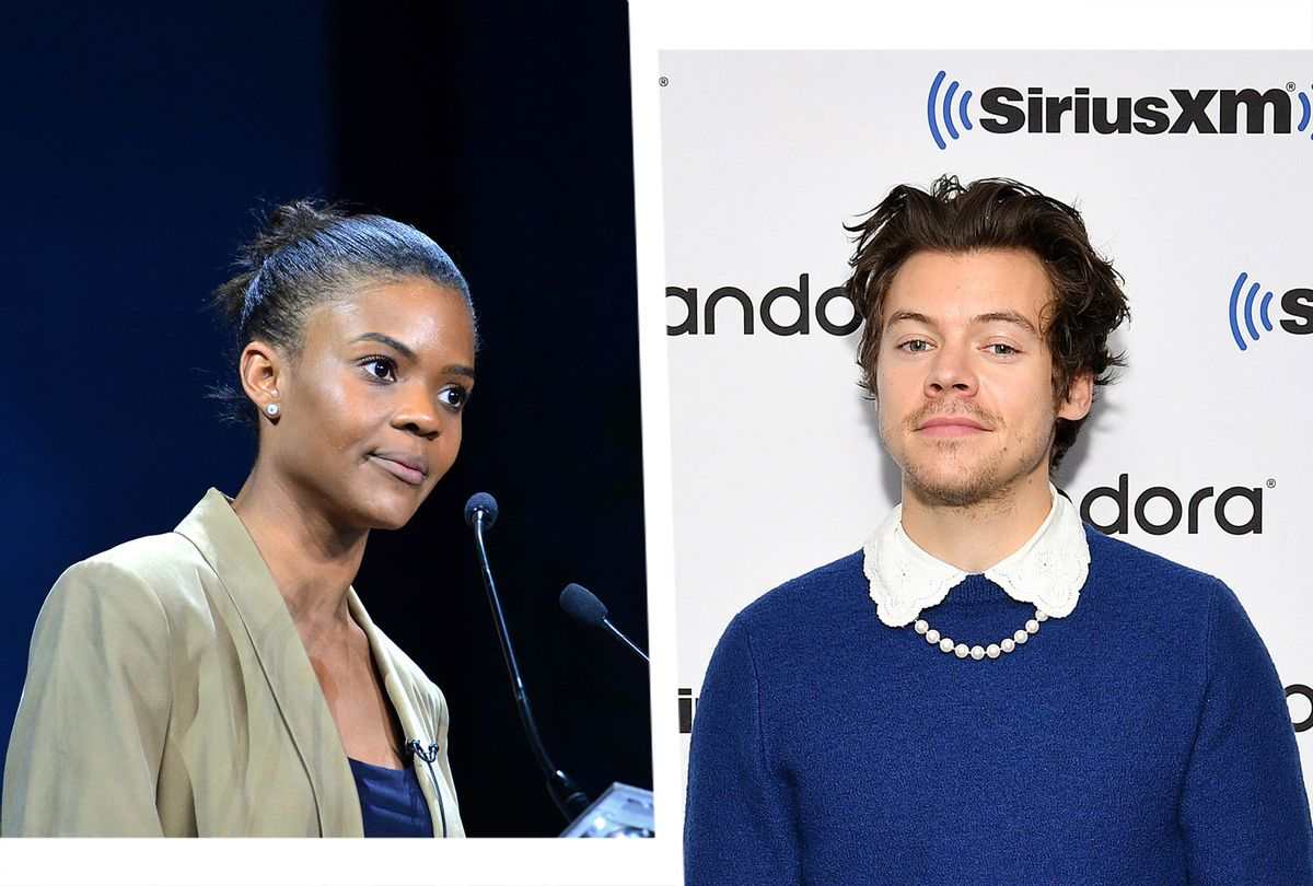 Candace Owens and Harry Styles (Photo illustration by Salon/Getty Images)