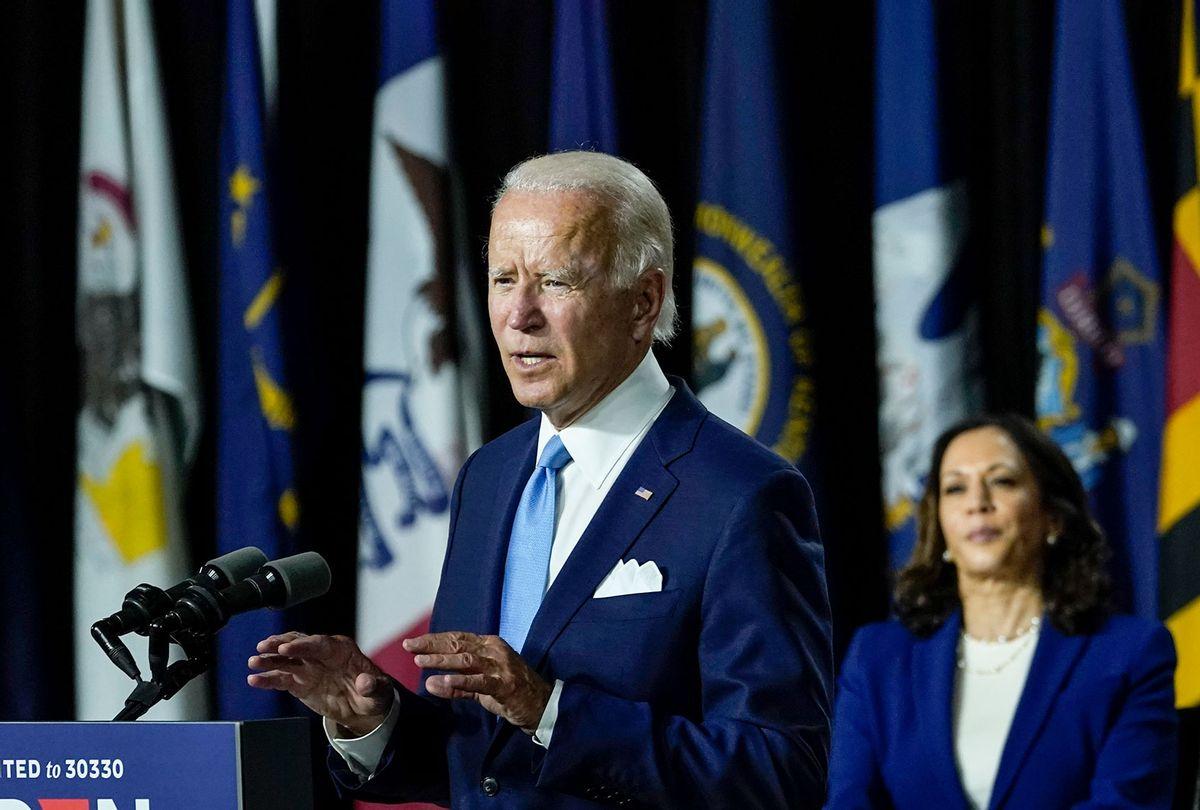 Joe Biden and Kamala Harris (Drew Angerer/Getty Images)