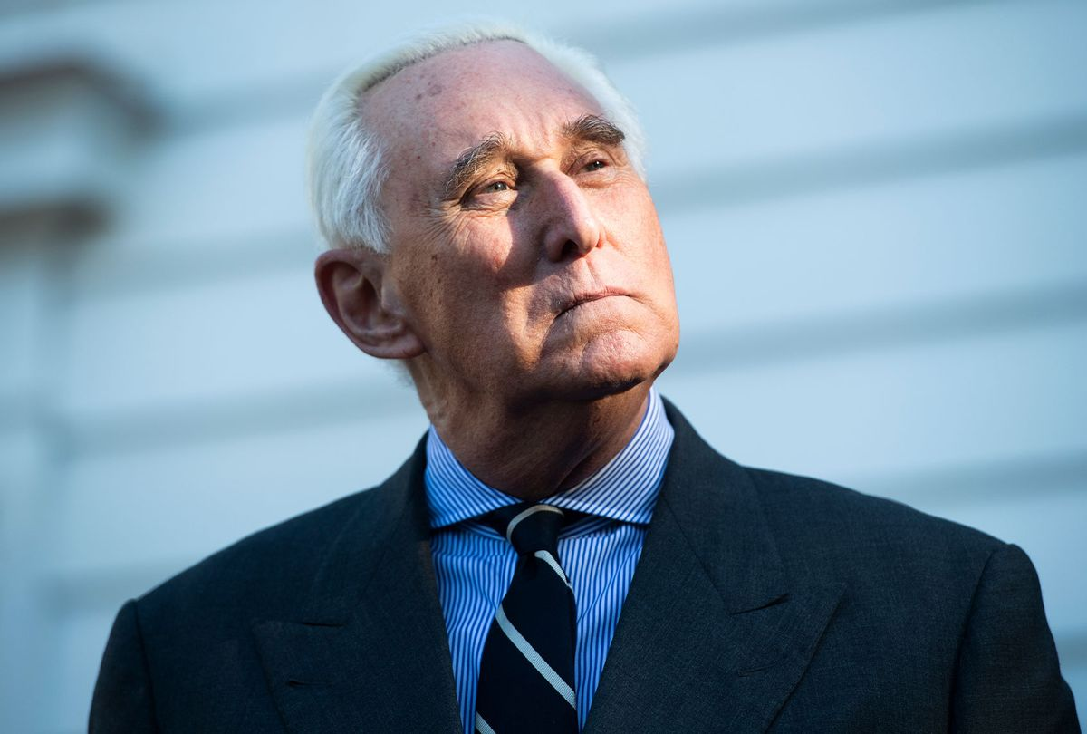 Roger Stone, former advisor to President Trump (Tom Williams/CQ-Roll Call, Inc via Getty Images)
