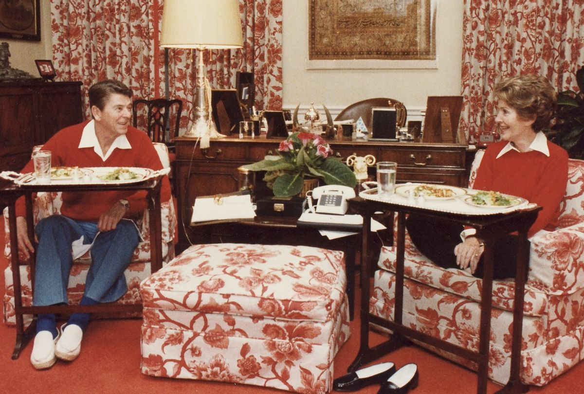 """Ronald and Nancy Reagan for """"The Reagans"""" (The Ronald Reagan Library)"""