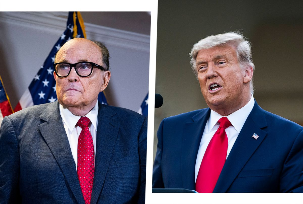 Rudy Giuliani and Donald Trump (Photo illustration by Salon/Getty Images)