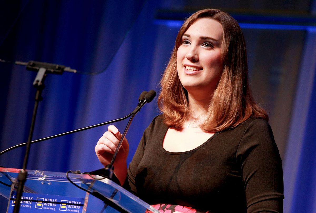 Sarah McBride (Rich Fury/Getty Images for Human Rights Campaign)