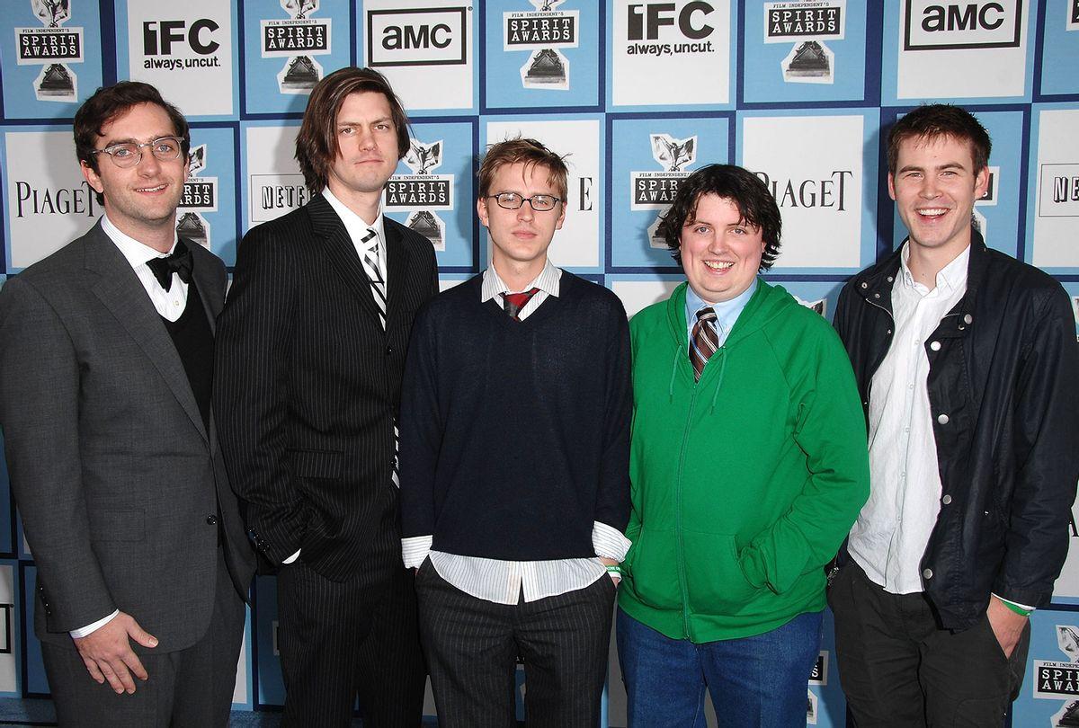 "Comedians Sam Brown, Trevor Moore, Darren Trumeter, Timmy Williams and Zach Cregger of ""The Whitest Kids U'Know"" (Steve Granitz/WireImage)"