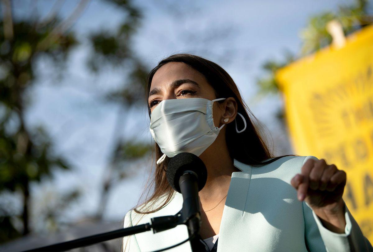 Alexandria Ocasio-Cortez (Caroline Brehman/CQ-Roll Call, Inc via Getty Images)