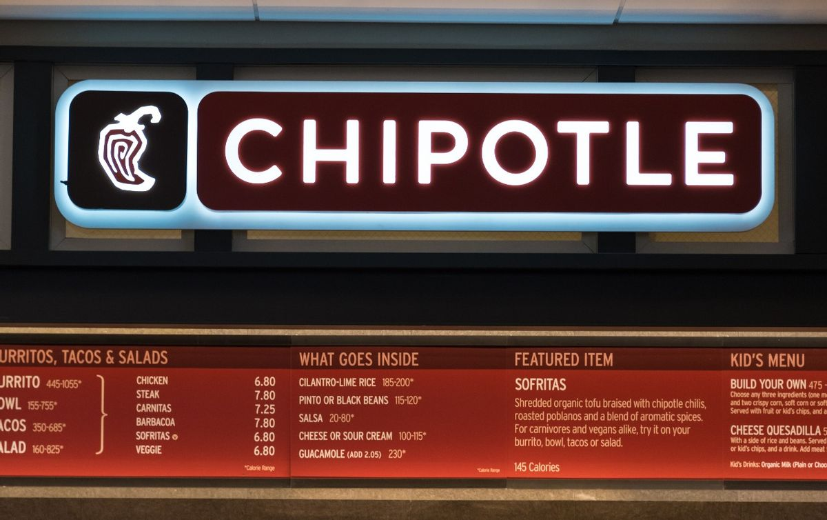 Chipotle Mexican Grill, Inc. is a chain of restaurants in the United States, United Kingdom, Canada, Germany, and France, specializing in Mission burritos and tacos.  (Photo by Roberto Machado Noa/LightRocket via Getty Images)