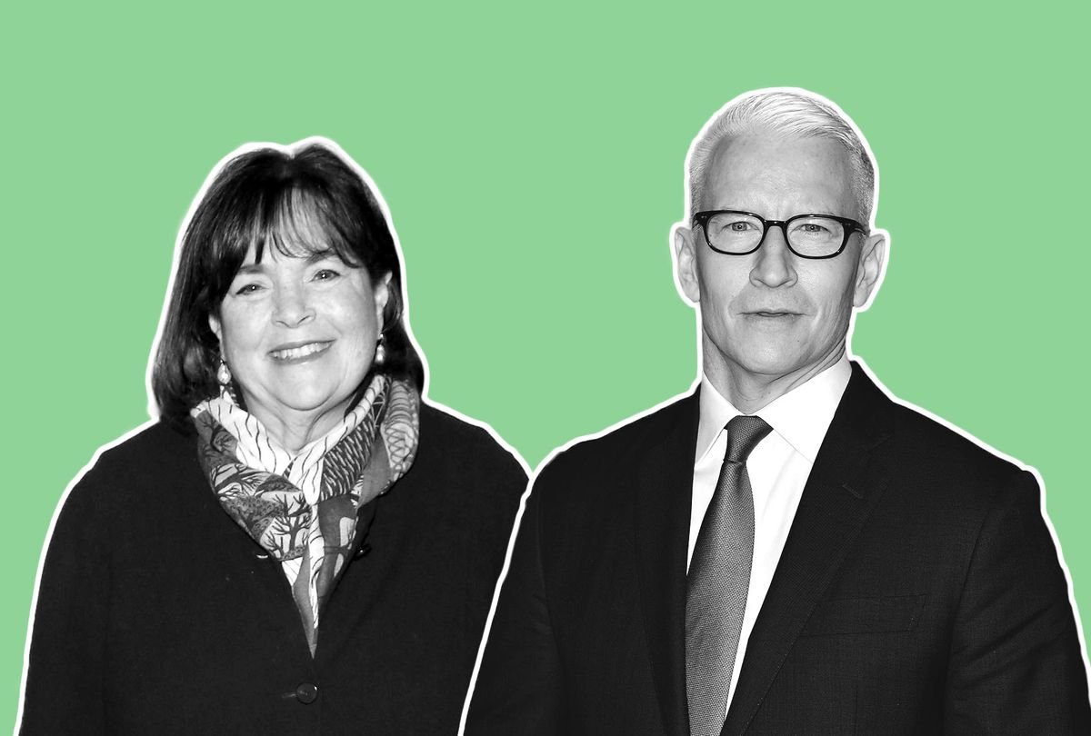 Ina Garten and Anderson Cooper (Photo illustration by Salon/Getty Images)
