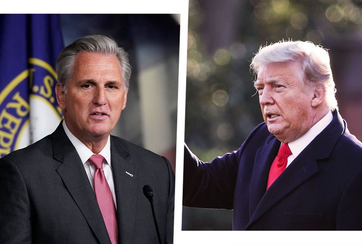 Kevin McCarthy and Donald Trump (Photo illustration by Salon/Getty Images)