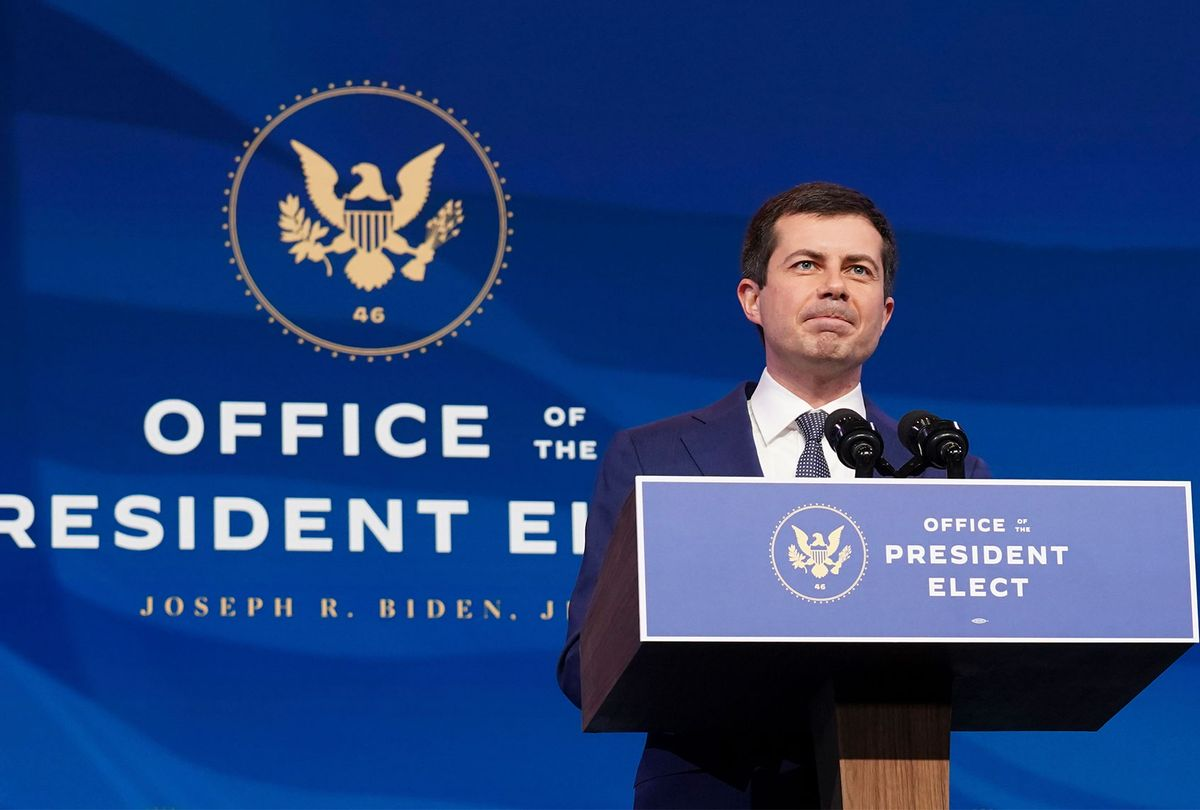 Pete Buttigieg (Kevin Lamarque-Pool/Getty Images)