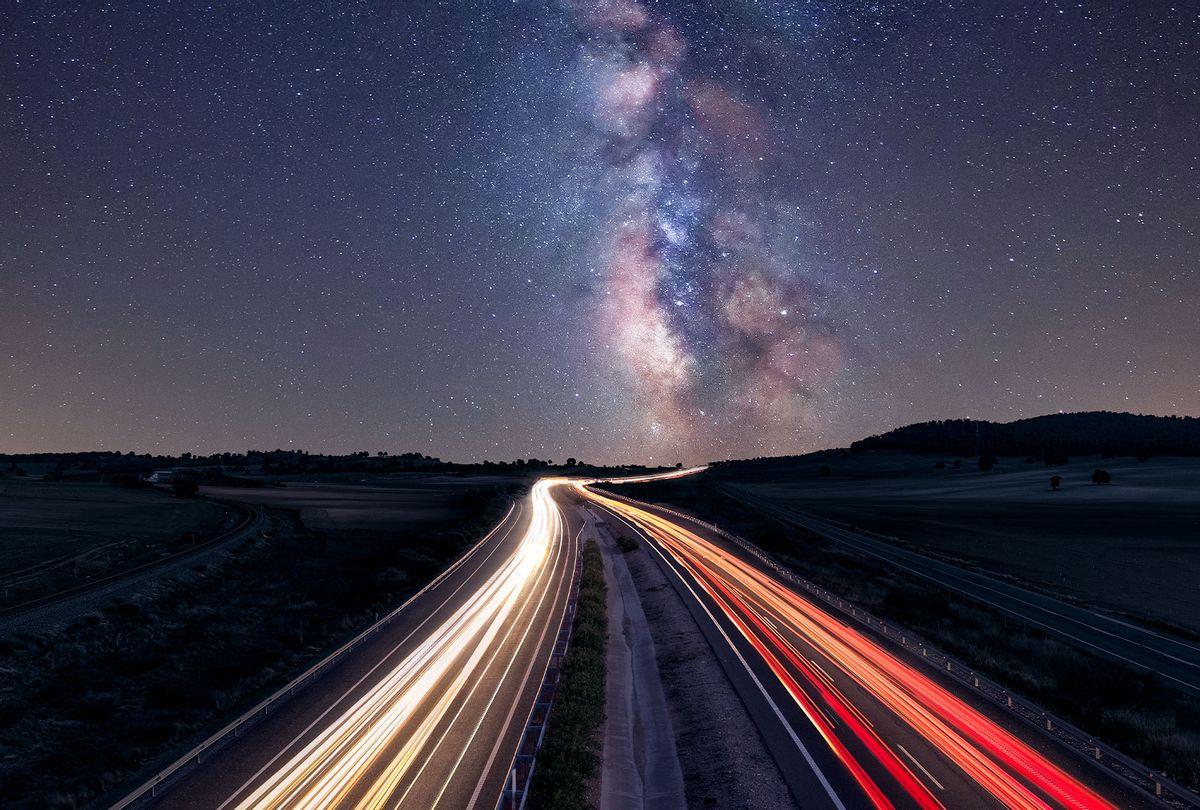 Highway to Milky Way (Juan Maria Coy Vergara/Getty Images)