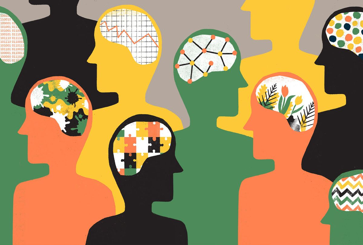 Group of People with differing brain patterns (Getty Images)