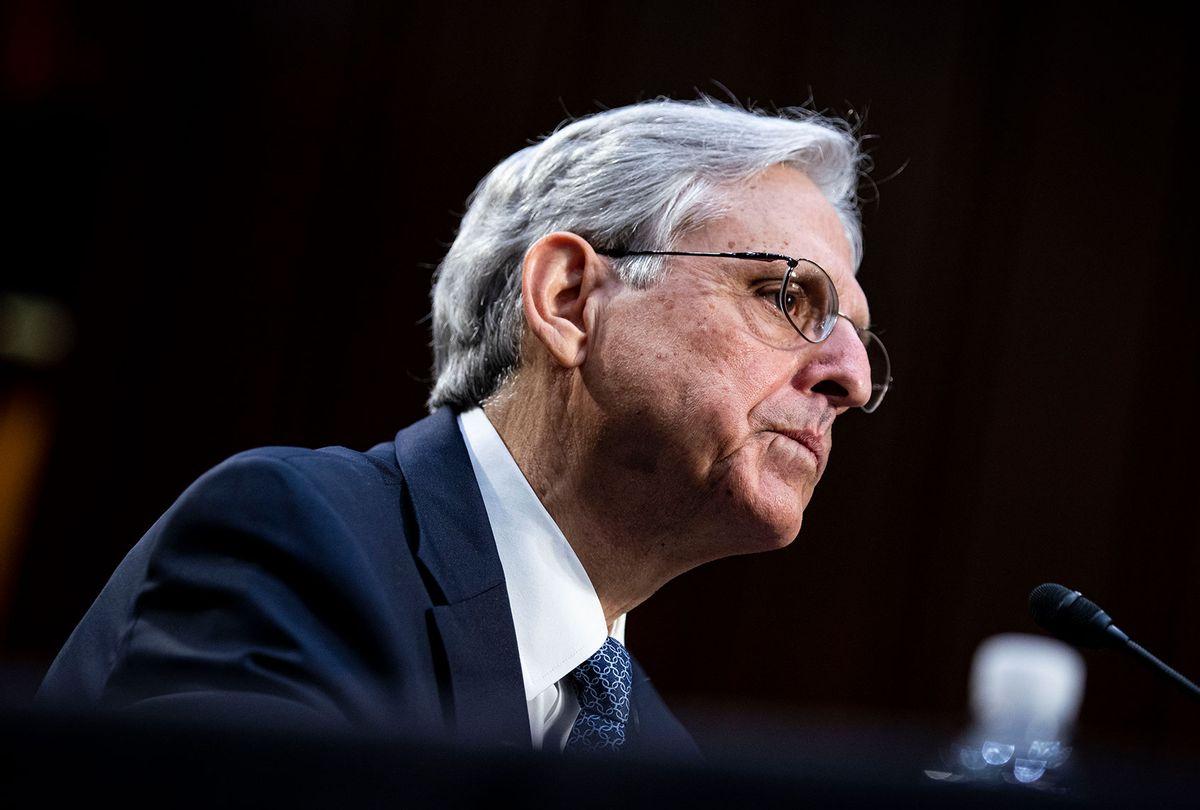 United States Attorney General Merrick Garland (Al Drago/Getty Images)