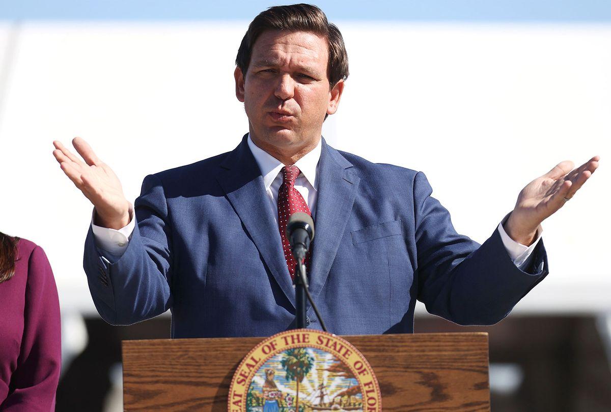Florida Governor Ron DeSantis (Joe Raedle/Getty Images)