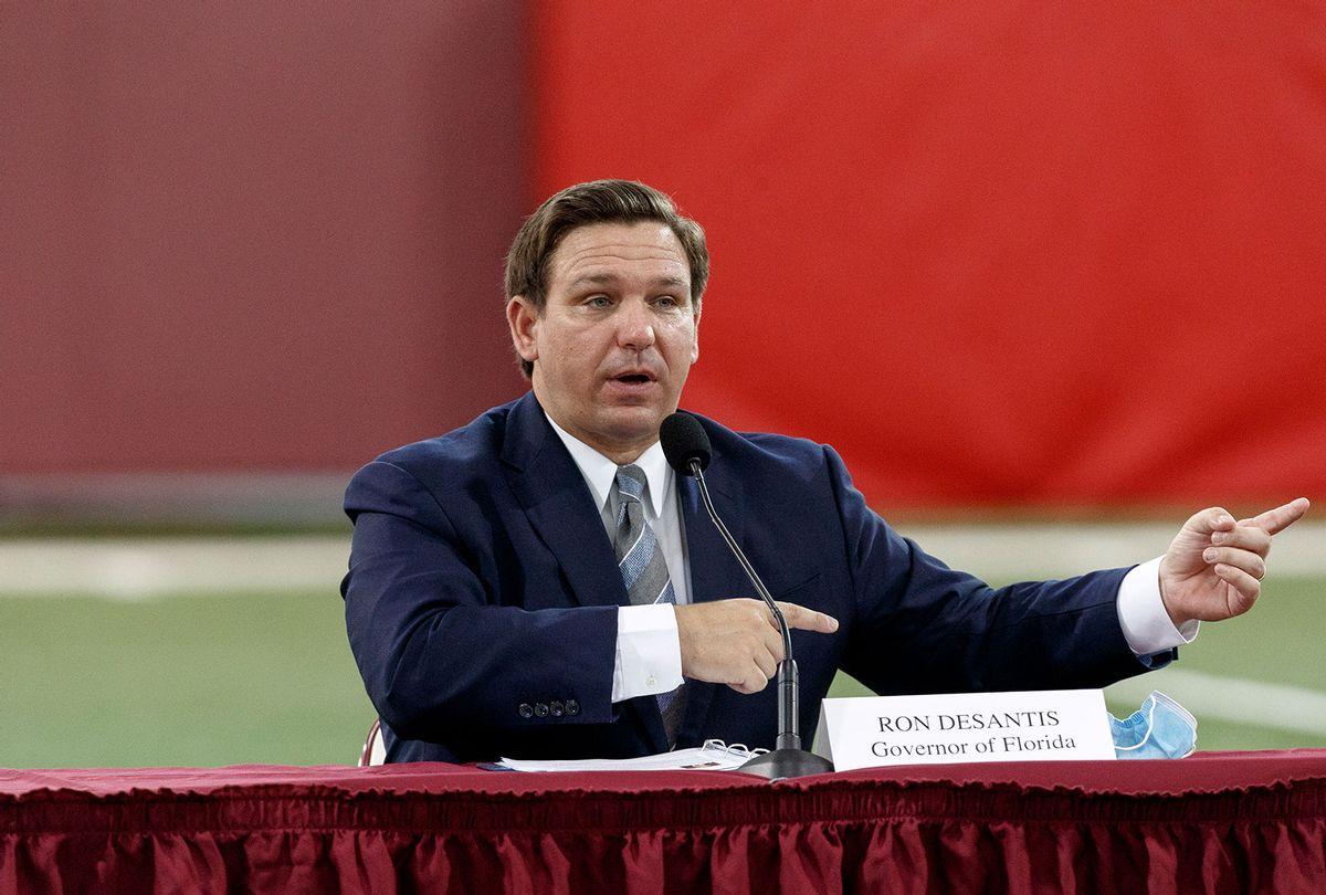 Florida Gov. Ron DeSantis  (Don Juan Moore/Getty Images)