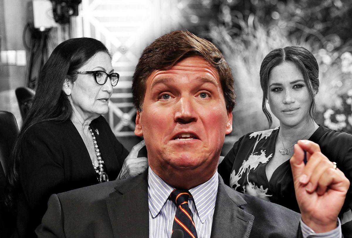 Pentagon rebukes Fox host Tucker Carlson for mocking female troops