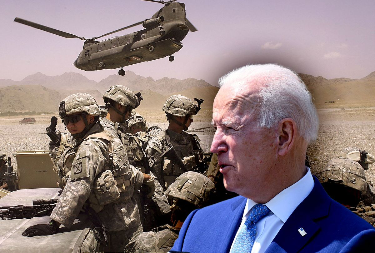 Biden to order immediate US withdrawal of troops from Afghanistan after 20  years | Salon.com