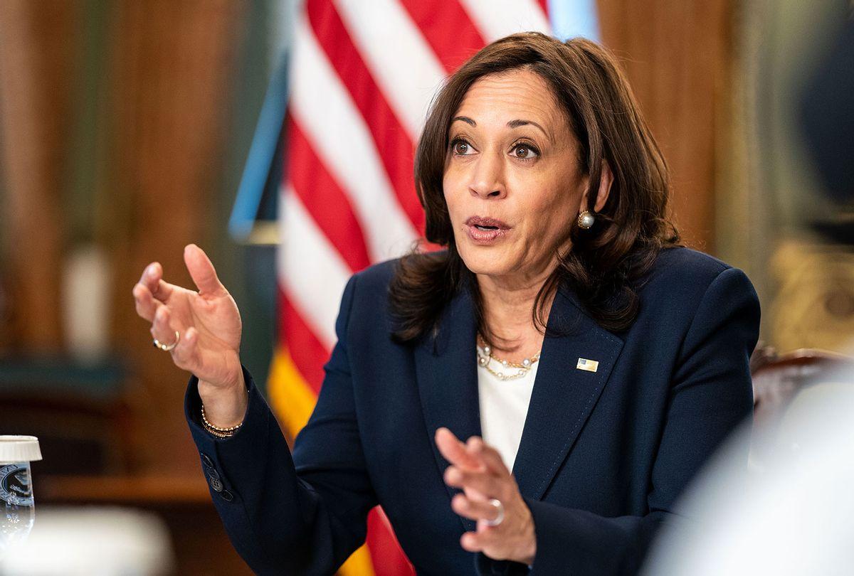 Vice President Kamala Harris (Kent Nishimura / Los Angeles Times via Getty Images)
