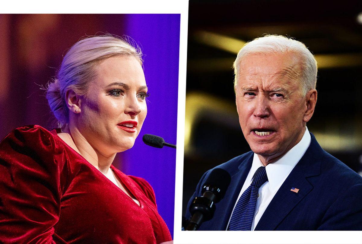 Meghan McCain and Joe Biden (Photo illustration by Salon/Getty Images)
