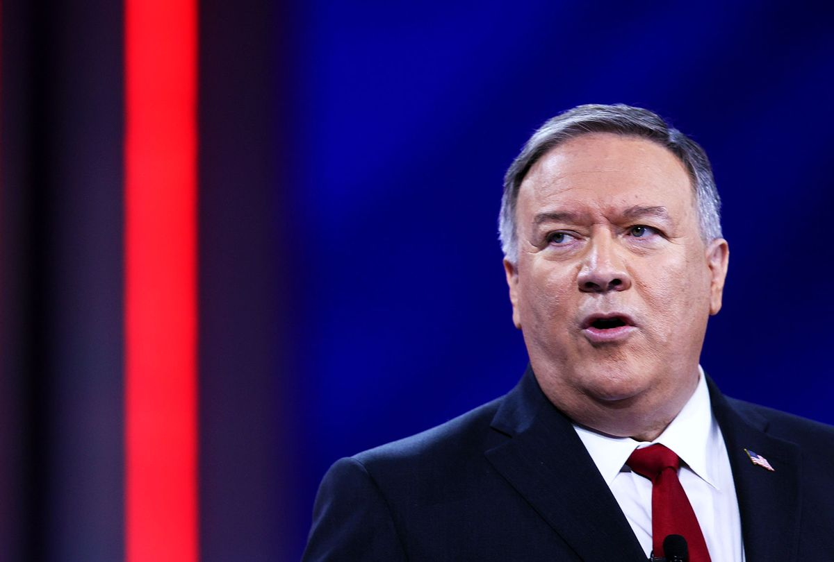 Former U.S. Secretary of State Mike Pompeo (Joe Raedle/Getty Images)