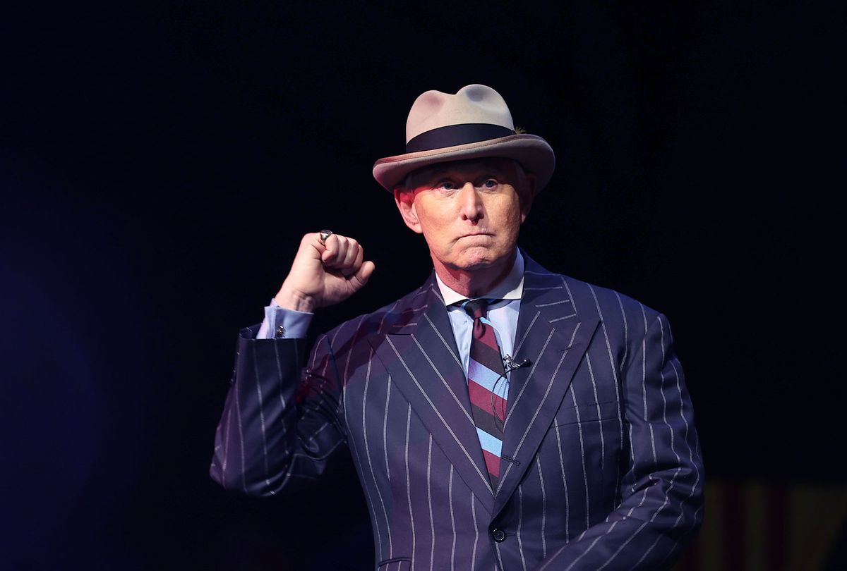 American political consultant Roger Stone (Tayfun Coskun/Anadolu Agency via Getty Images)