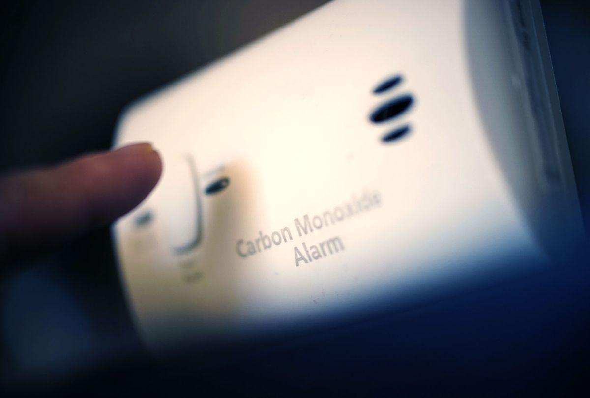 Carbon monoxide alarm (Getty Images)