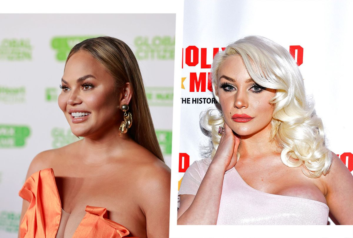 Chrissy Teigen and Courtney Stodden (Photo illustration by Salon/Getty Images)