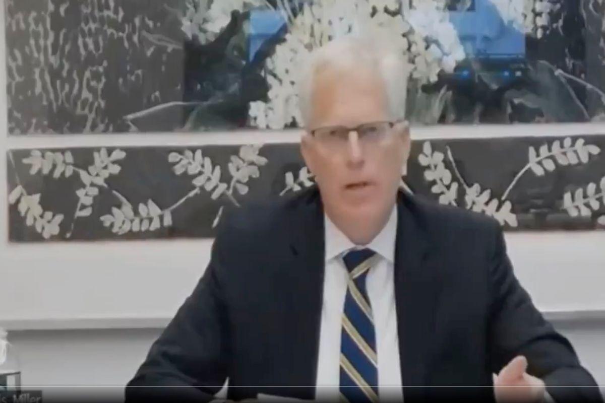Former acting Defense Secretary Christopher Miller (The Recount)