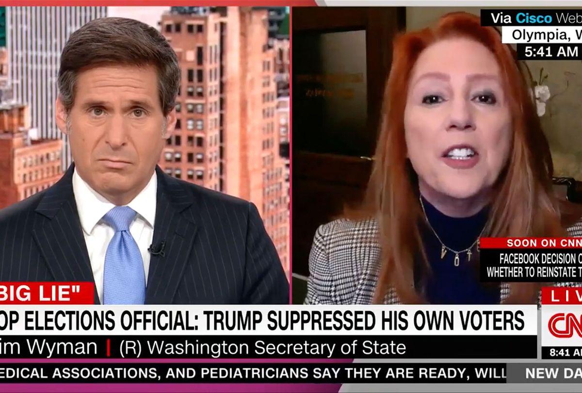 "Kim Wyman slams Arizona GOP's ballot ""audit"" (CNN)"