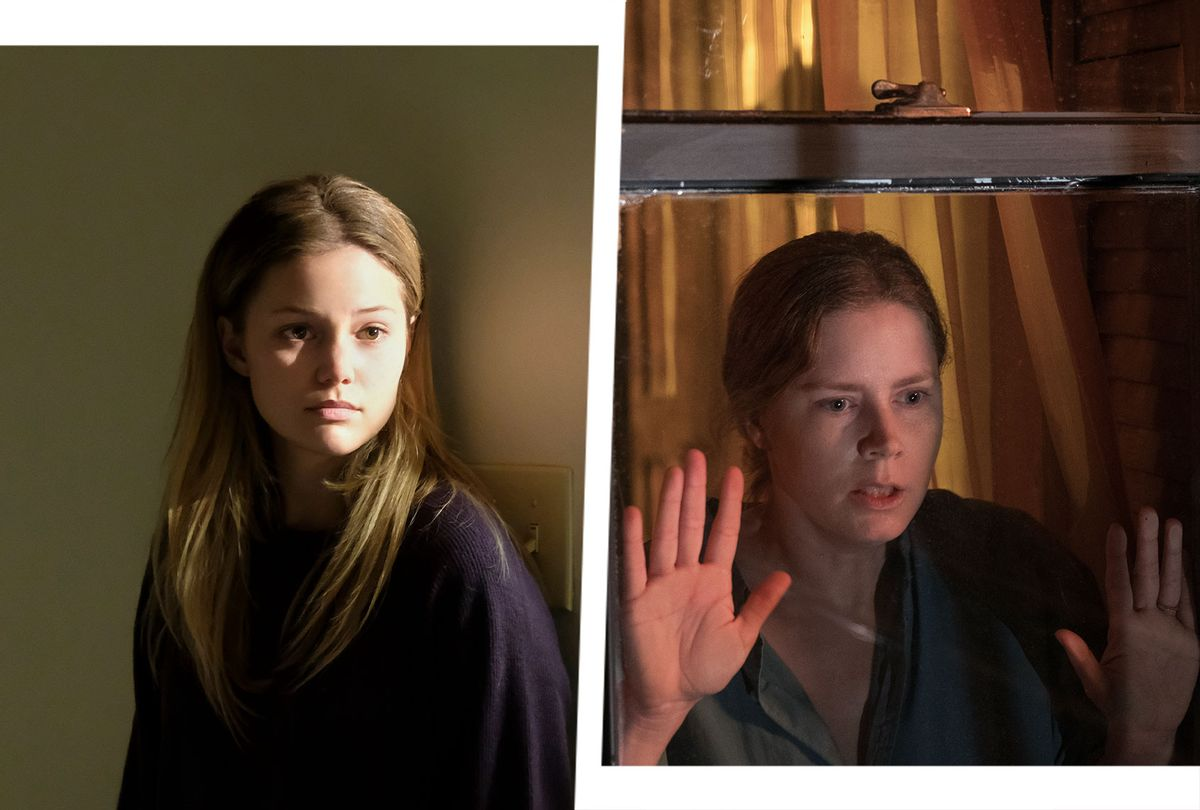 """Olivia Holt in """"Cruel Summer"""" and Amy Adams in """"The Woman in the Window"""" (Photo illustration by Salon/Netflix/Freeform)"""