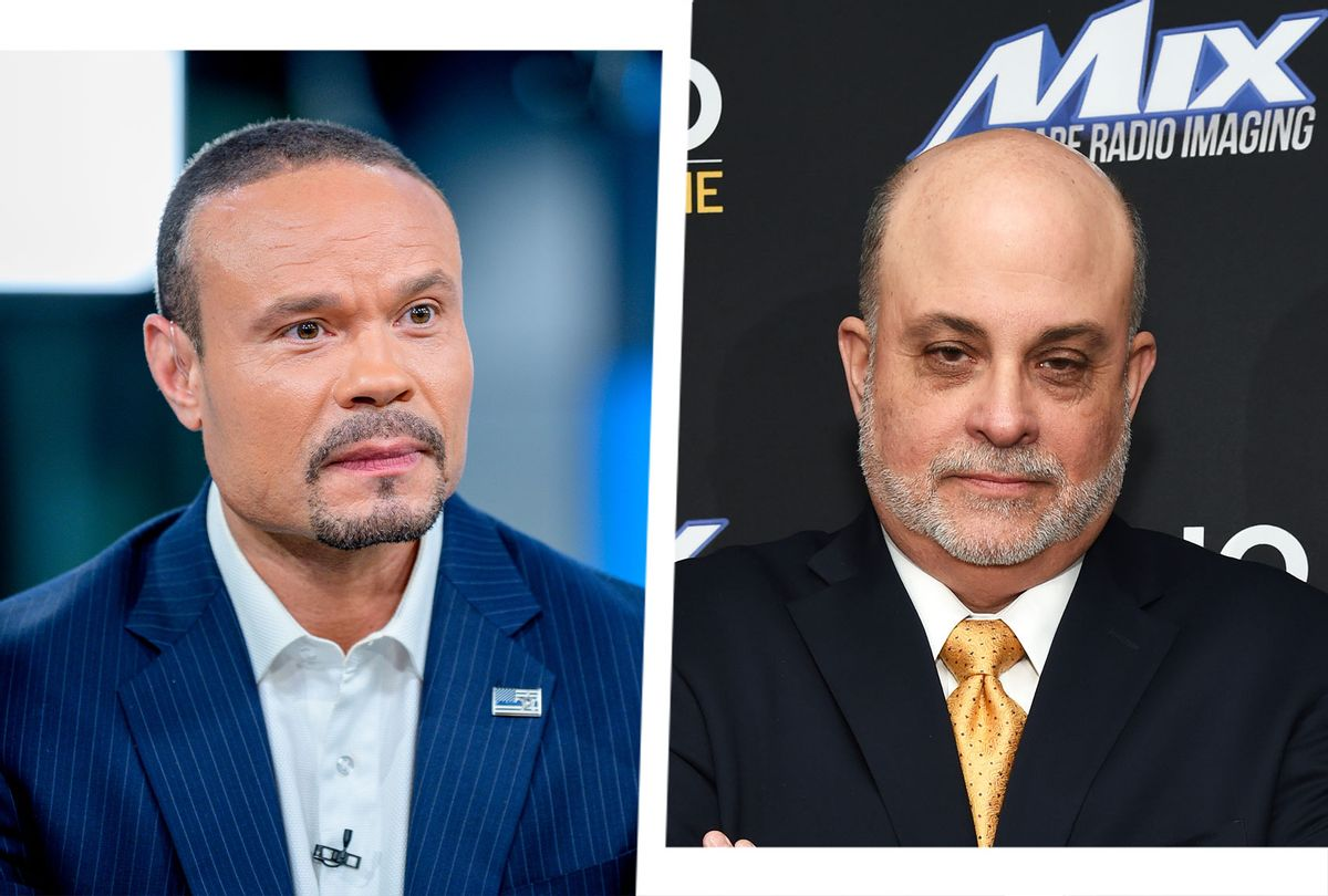 Dan Bongino and Mark Levin (Photo illustration by Salon/Getty Images)