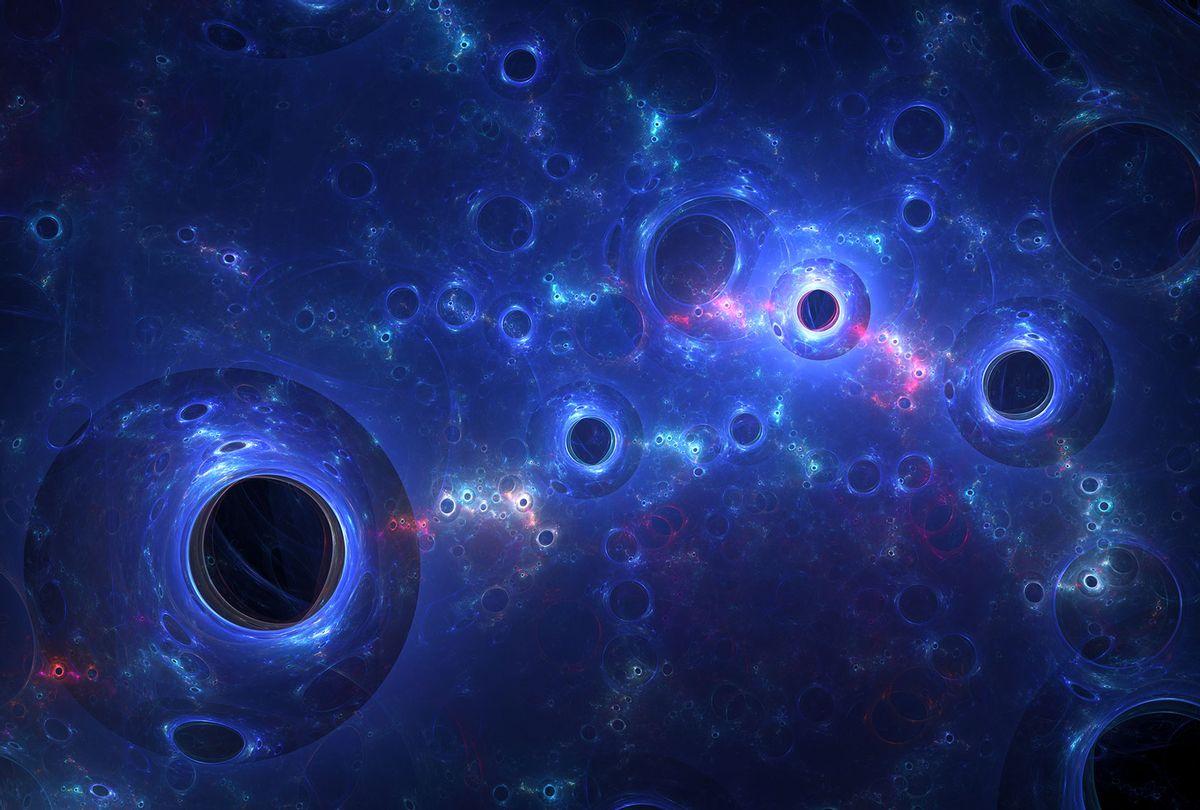Massive black holes in nebula (Getty Images)