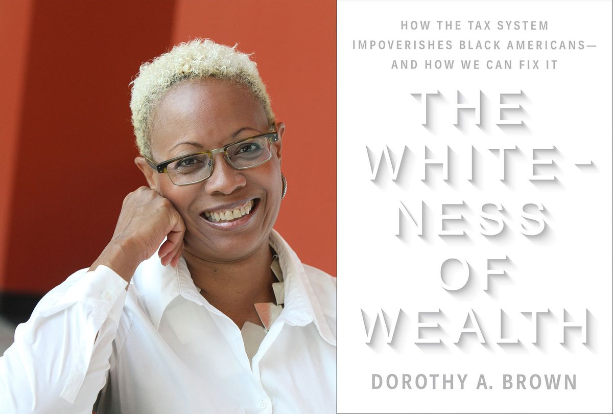 The Whiteness Of Wealth by Dorothy A. Brown (Photo illustration by Salon/Crown Publishing/Emory University)
