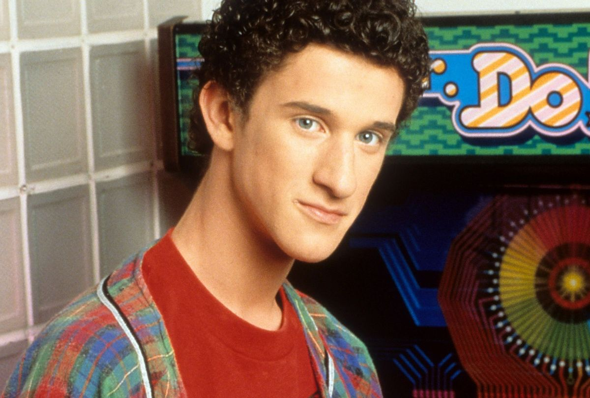 """Dustin Diamond in publicity portrait for the television series """"Saved By The Bell,"""" circa 1991 (NBC/Getty)"""