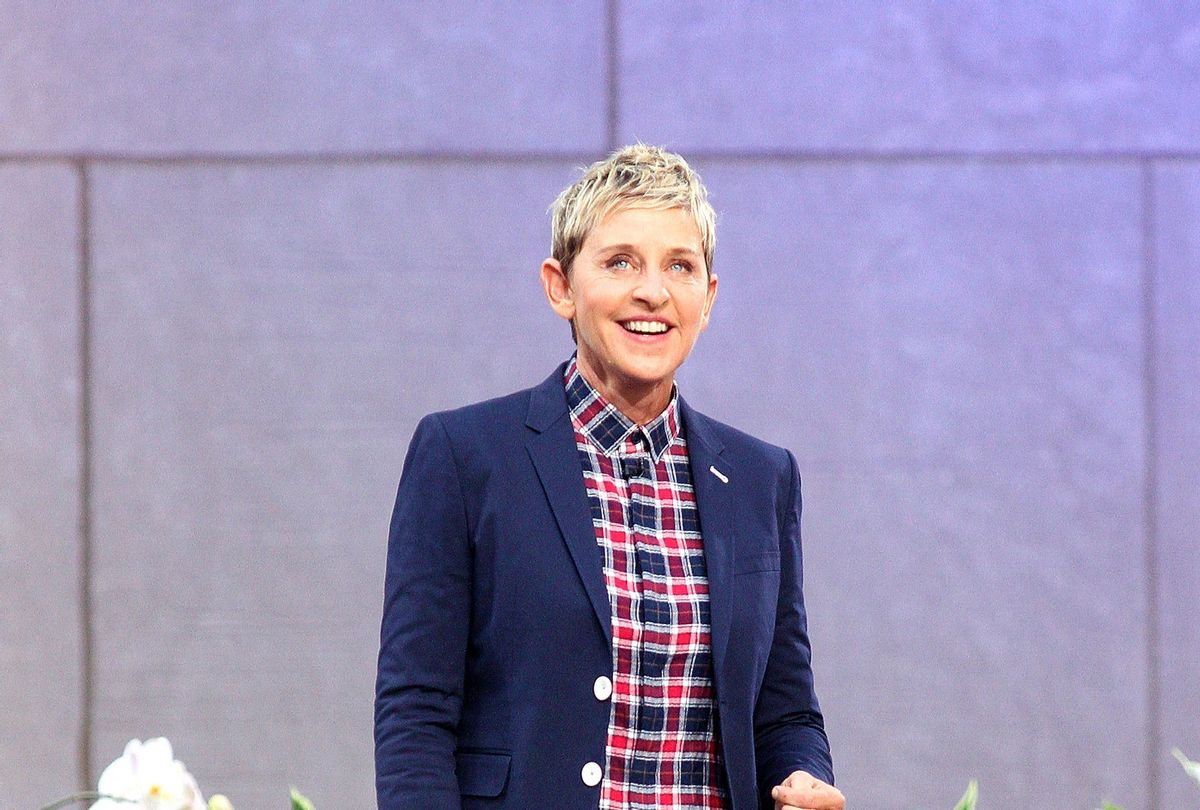 """Ellen DeGeneres on """"The Ellen DeGeneres Show"""" (Laura Cavanaugh/FilmMagic)"""