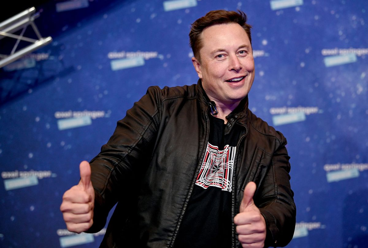 SpaceX owner and Tesla CEO Elon Musk at the Axel Springer Award 2020 in Berlin (Britta Pedersen-Pool/Getty Images)