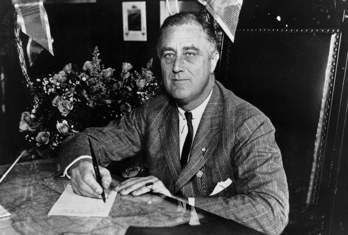 Franklin D. Roosevelt (Keystone Features/Getty Images)