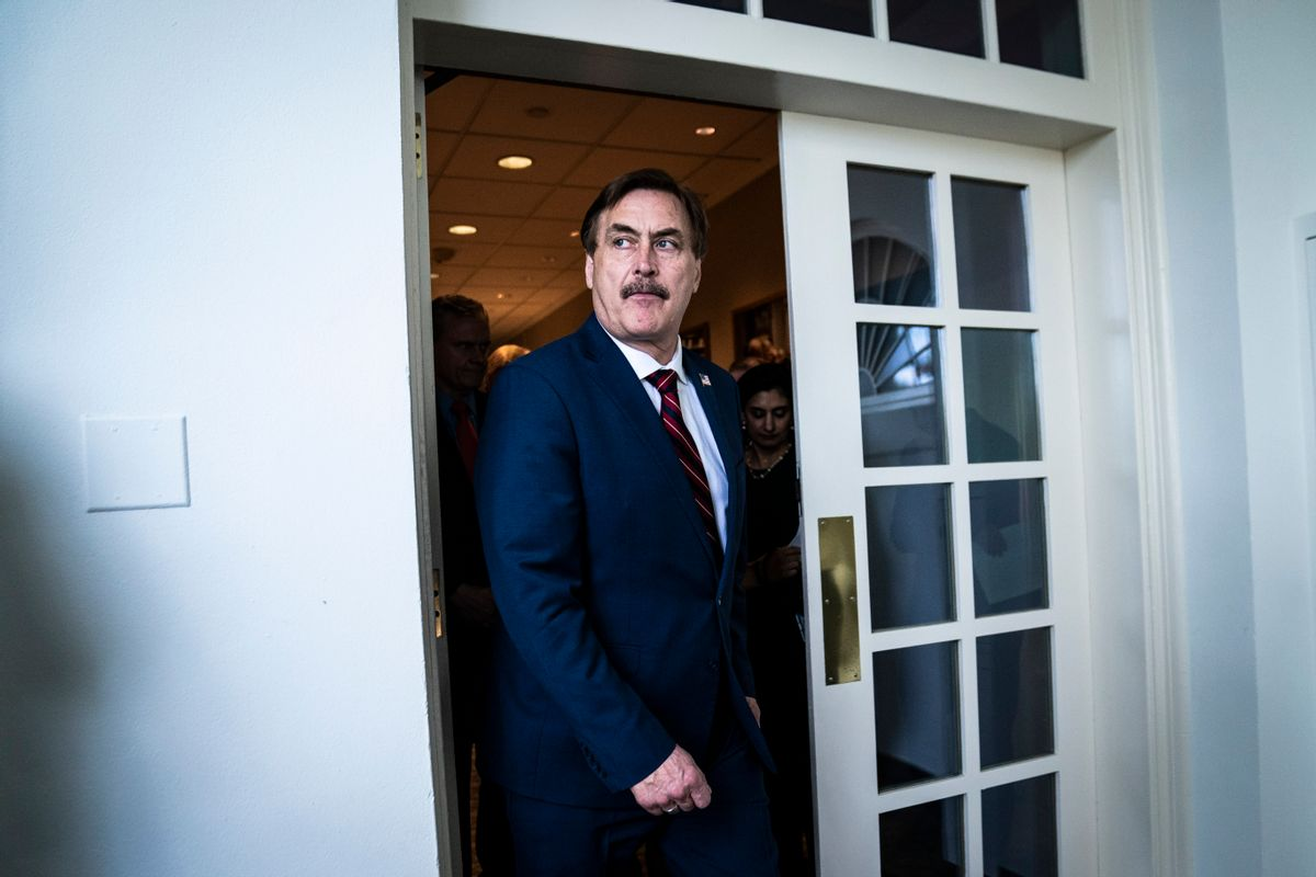 MyPillow CEO Mike Lindell (Jabin Botsford/The Washington Post via Getty Images)