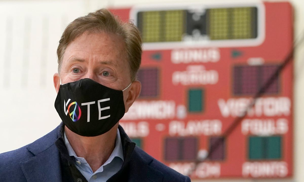 Connecticut Gov. Ned Lamont (TIMOTHY A. CLARY/AFP via Getty Images)