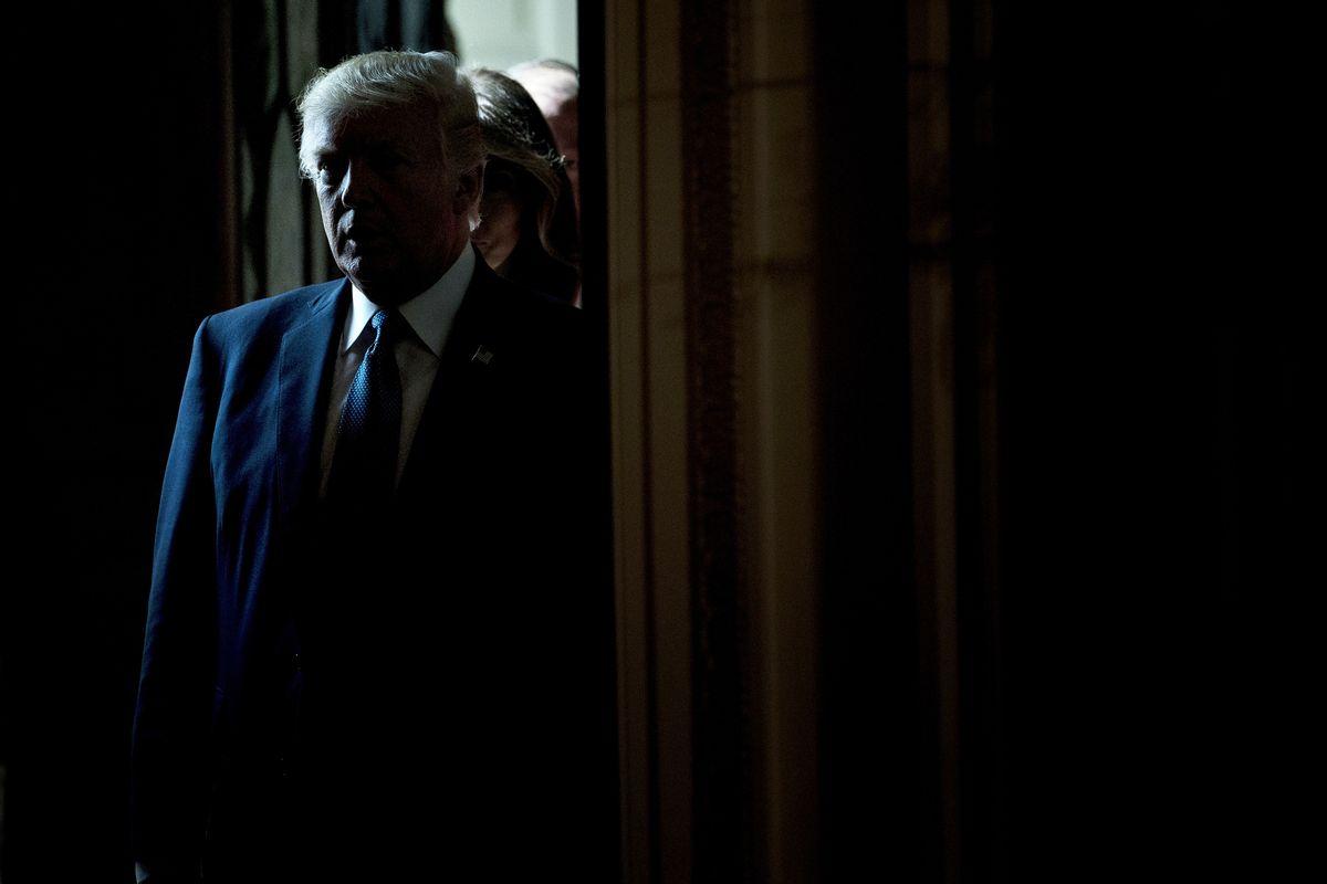 Former President Donald Trump (BRENDAN SMIALOWSKI/AFP via Getty Images)