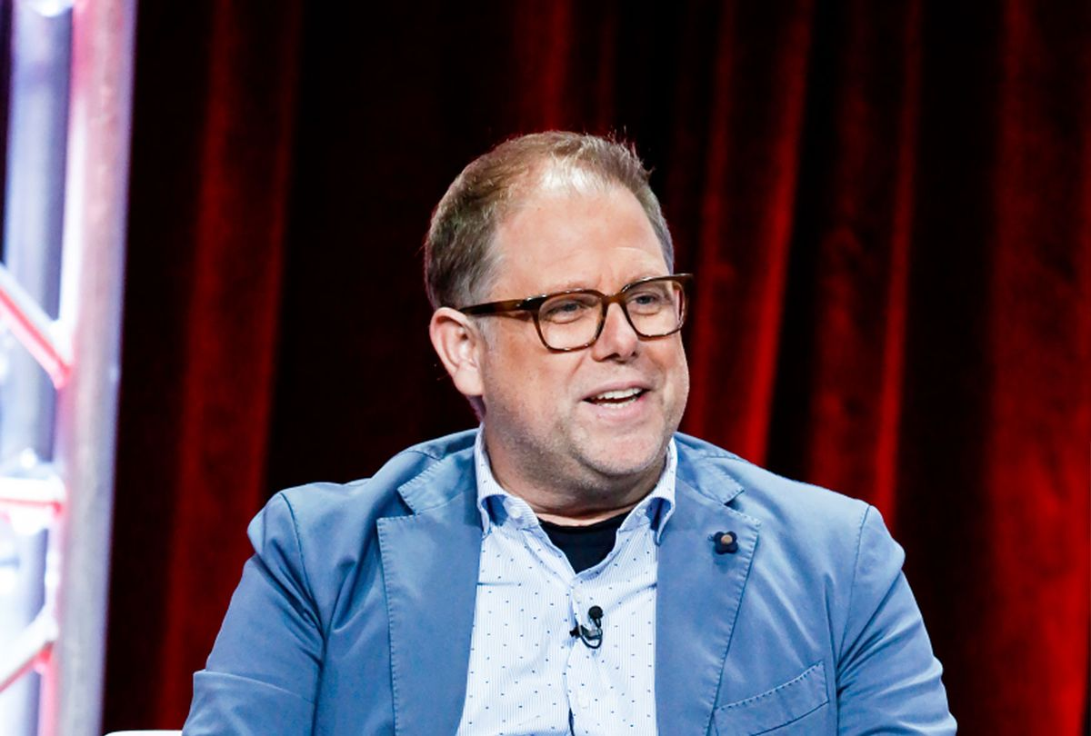 Greg Spottiswood, Executive Producer of the CBS series ALL RISE at the TCA SUMMER PRESS TOUR 2019 on Thursday, August 1, 2019 at the Beverly Hilton Hotel in Beverly Hills, CA. (Monty Brinton/CBS)