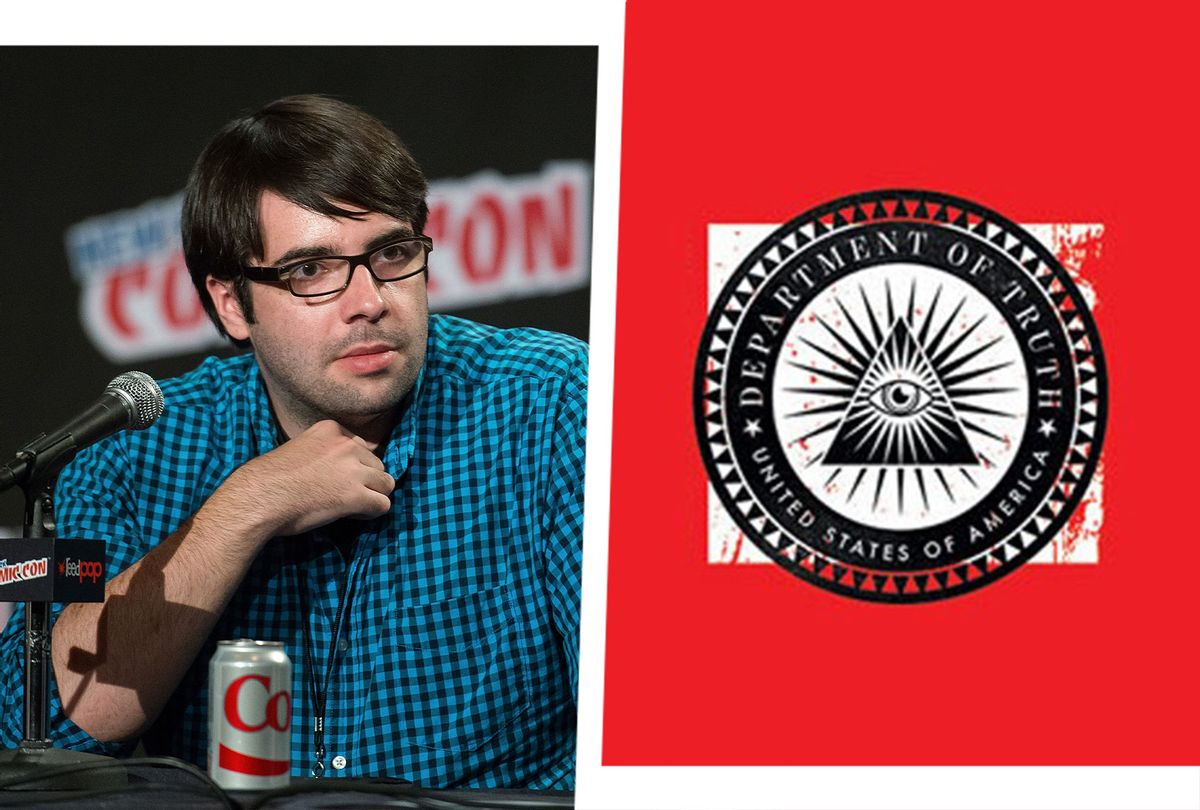 """James Tynion at Comic-Con in New York, 2014 