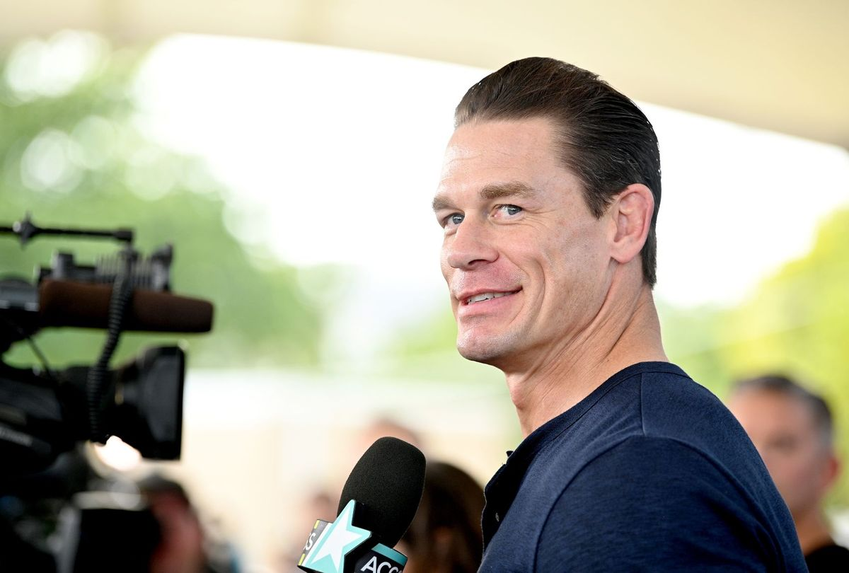 """John Cena at """"The Road to F9"""" Global Fan Extravaganza ( Dia Dipasupil/Getty Images)"""