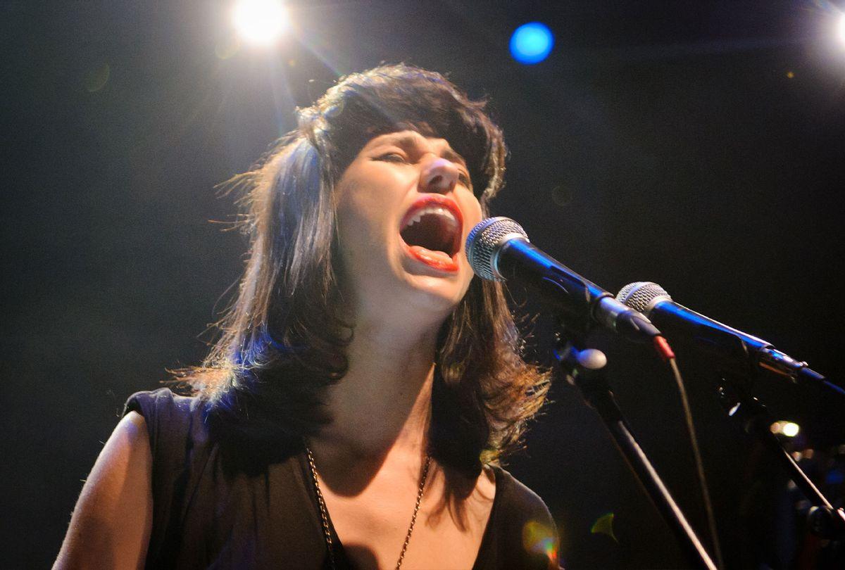Kimbra performs in London (Joseph Okpako/WireImage)