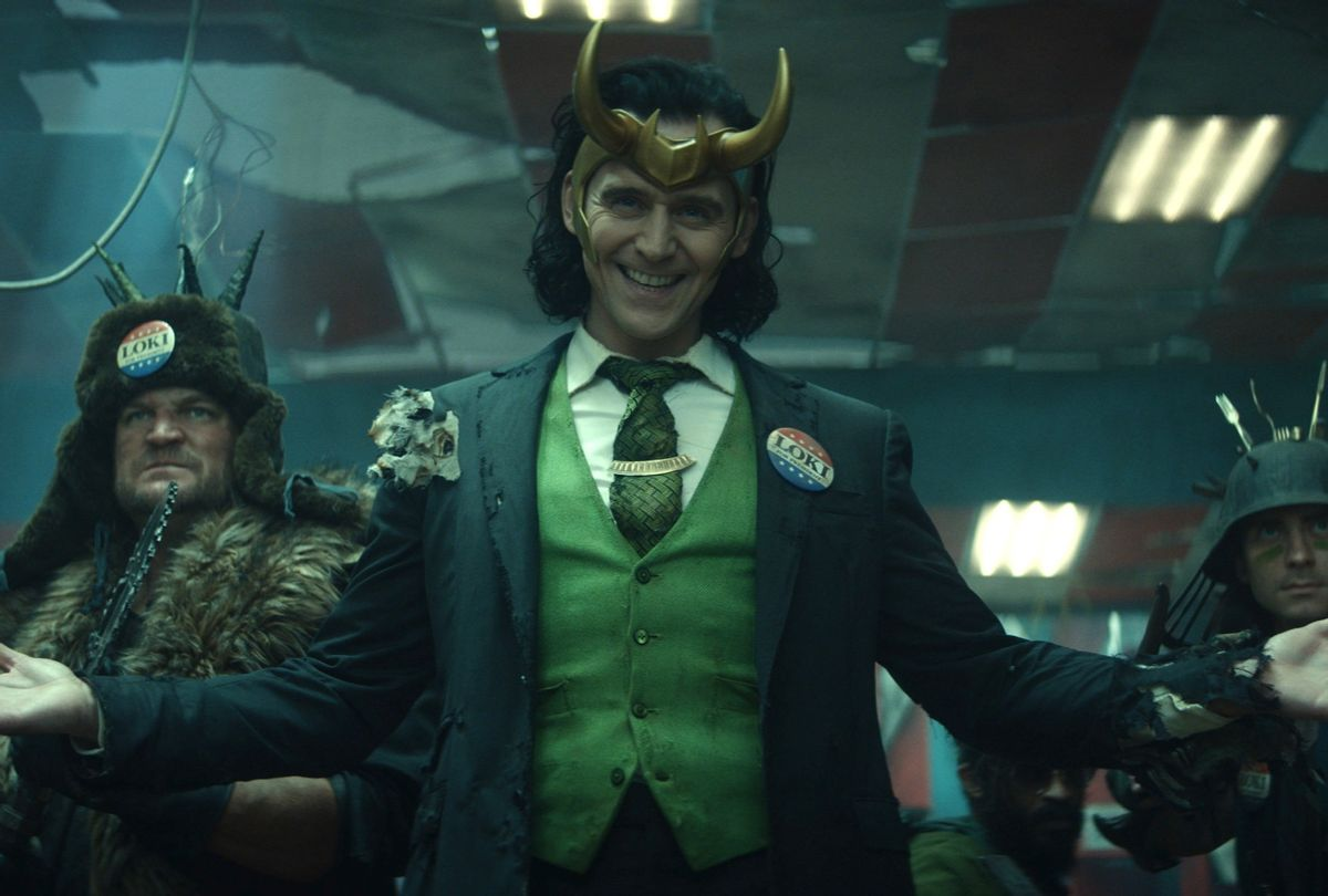 "Tom Hiddleston in Marvel's ""Loki"" (Marvel/Disney+)"